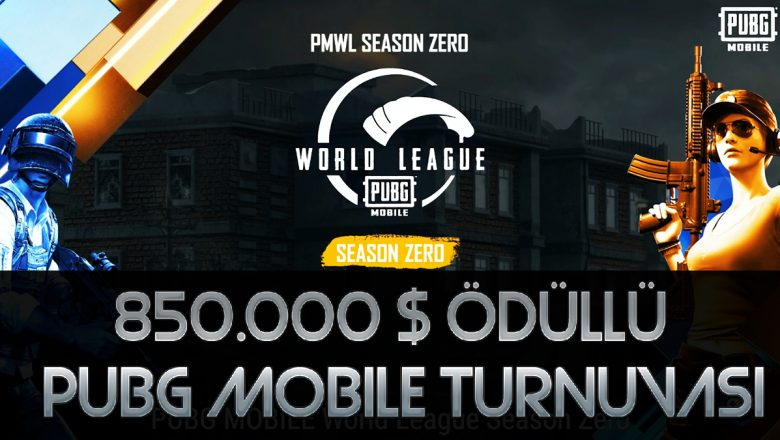 PUBG Mobile World League (PMWL) Turnuvası Geliyor !