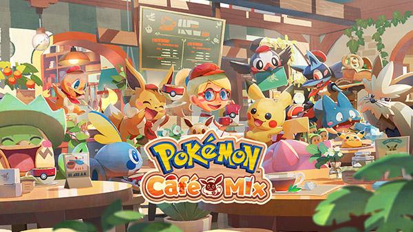 Pokemon Cafe Mix: Ücretsiz Oyunu Duyurdu !