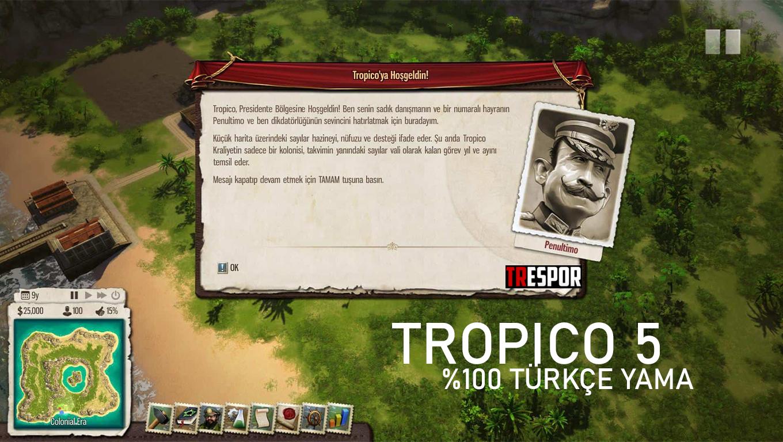 Tropico 5 Türkçe Yama Paketi