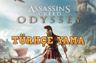 Assassin's Creed Odyssey Türkçe Yama