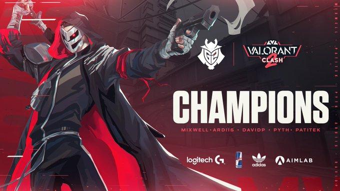 Lvl Clash 2 Turnuvası Şampiyonu G2 Esports!