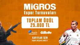 Migros Espor Turnuva Platformunu Yayınladı!