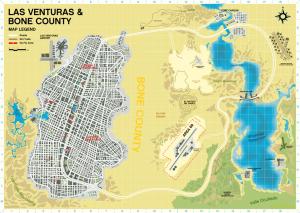 las venturas GTA 6 haritası