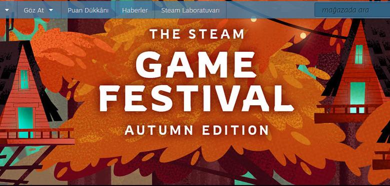 Steam Oyun Festivali Sonbahar Sürümü Başladı!