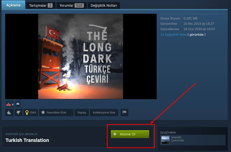the-long-dark-turkce-yama-yapmak